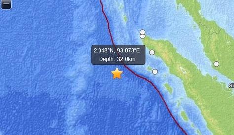 Gempa Aceh : Malaysia Peringatkan Kemungkinan Tsunami