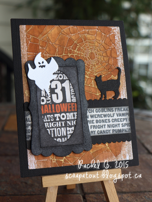 Handmade card, Impression Obsession, Halloween