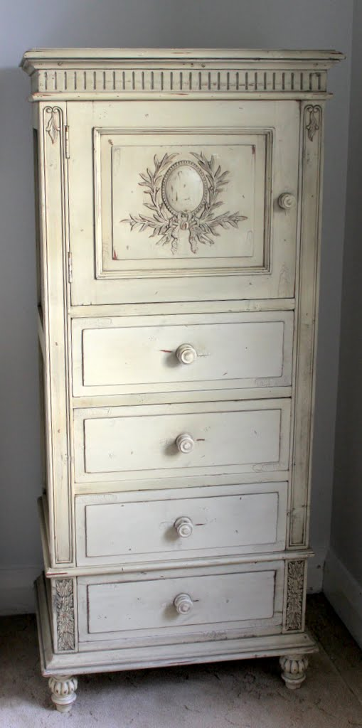 Lilyfield Life: A beautiful French Armoire (Cabinet and Drawers)