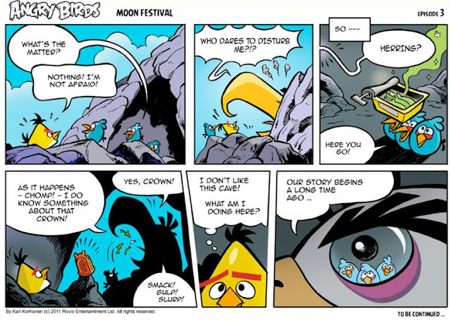 Download Angry Birds Seasons Moon Festival Comic Series – Episode 3