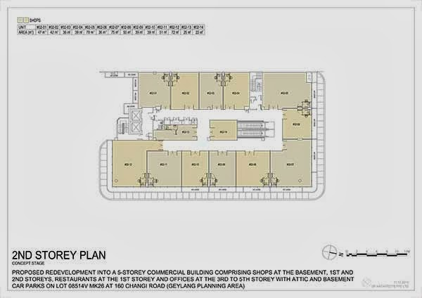 Hexacube @ Changi 2nd storey floor plan