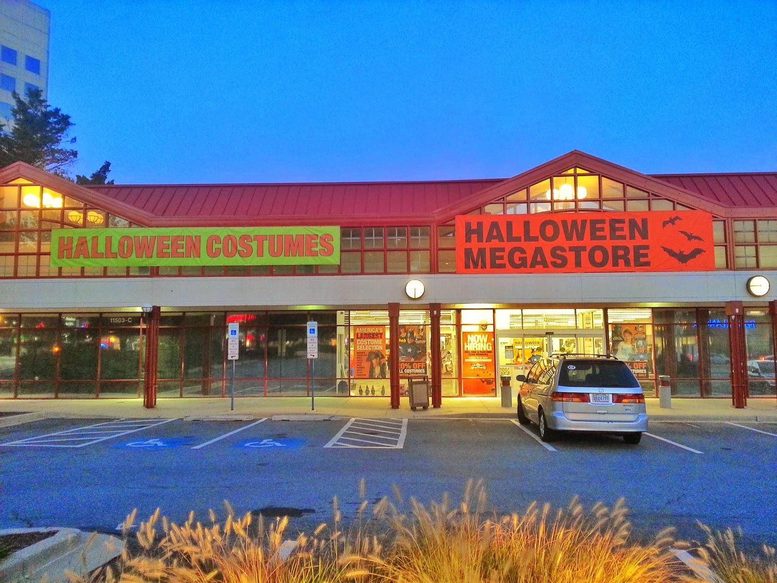 robert dyer @ bethesda row: 2 halloween stores open in bethesda (photos)