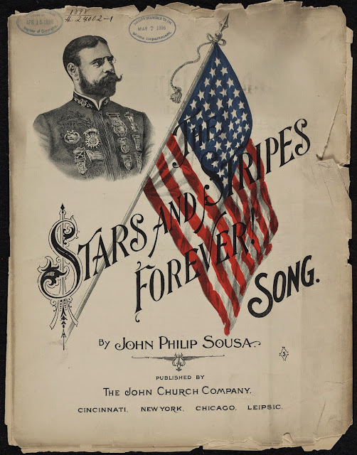 Stars and Stripes Forever Sheet Music Cover