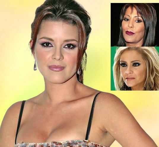 de la telenovela Una Familia con Suerte , Alicia Machado , quien es la ...