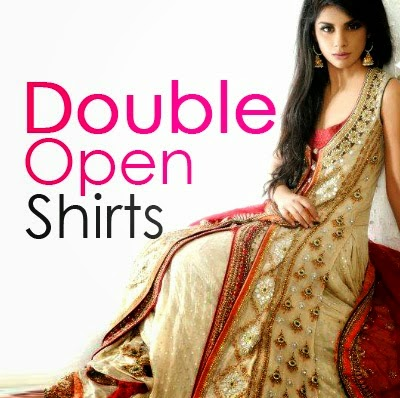 New Open Double Shirts Dress Designs