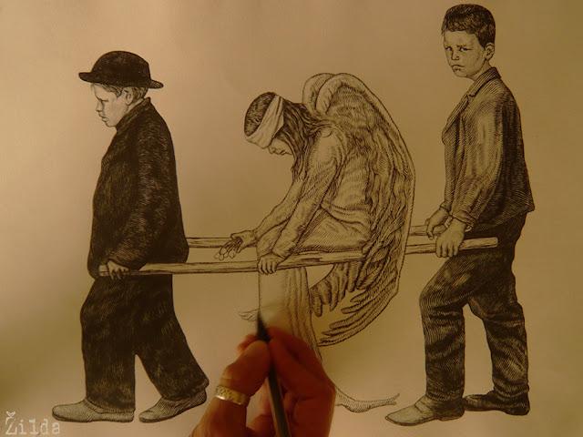 Zilda, dessin, drawing, Fragiles Fabulae