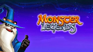 Screenshots of the MonsterLegends for Android tablet, phone.