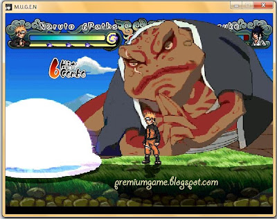 Naruto Shippuden Ninja Generations - MUGEN PC Games gameplay