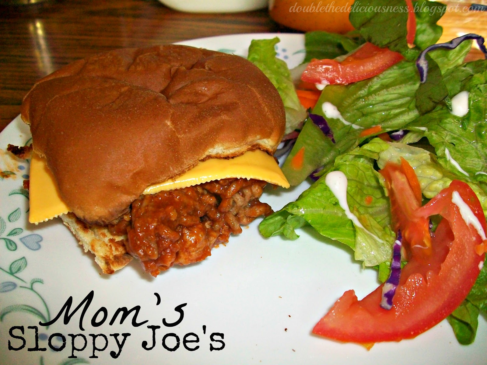 Double the Deliciousness: Mom's Sloppy Joes