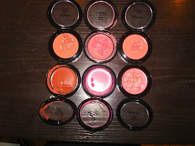 nyx cream blushes