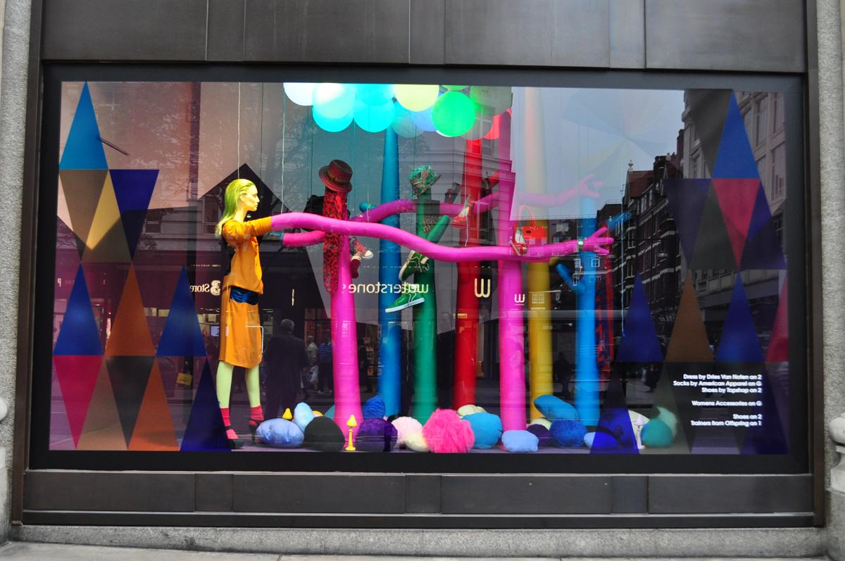 Especial vidrieras selfridges co - Vidrieras de colores ...