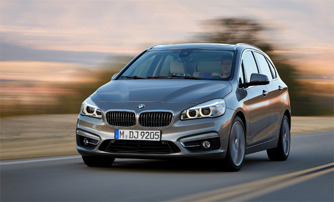 BMW 2-Series Active Tourer front view