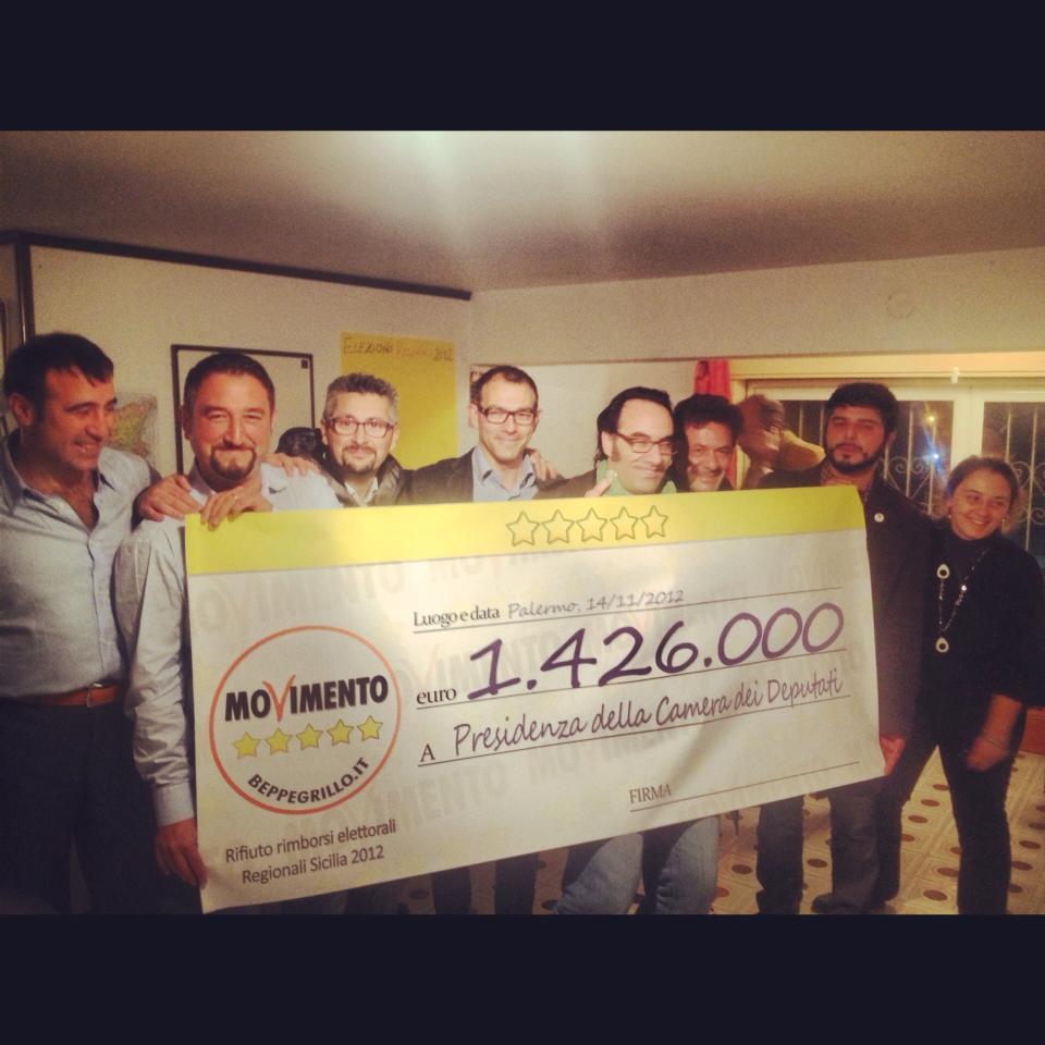 Hanno Finalmente Aboliti I Rimborsi Elettorali: SpaccaMax: The Trouble Maker !!!: 2012-11-11