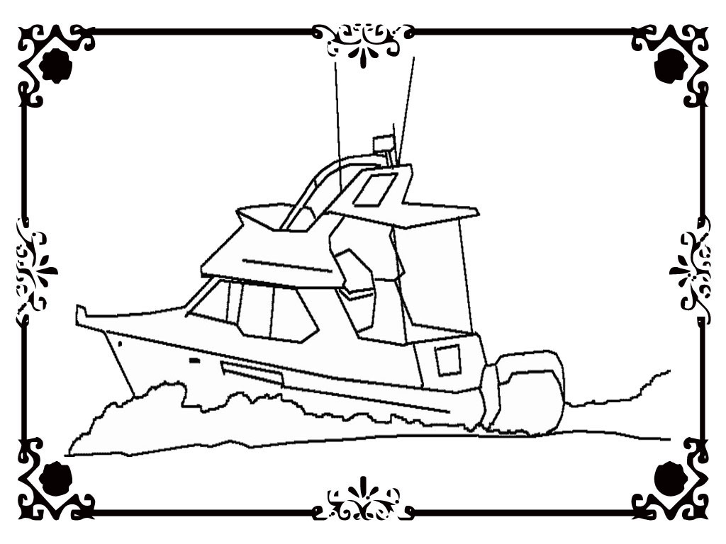 Carnival Cruise Ship Coloring Pages