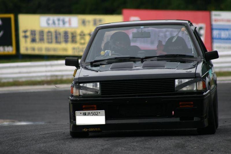Mitsubishi Lancer druga generacja, wyścigi, sportowy samochód z lat 80, klasyki, fajne samochody z lat 80, napęd na tył