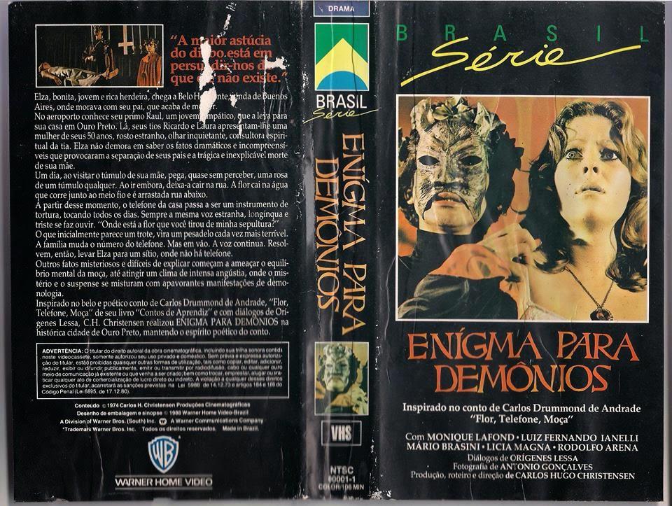 Resultado de imagem para Enigma para Demônios
