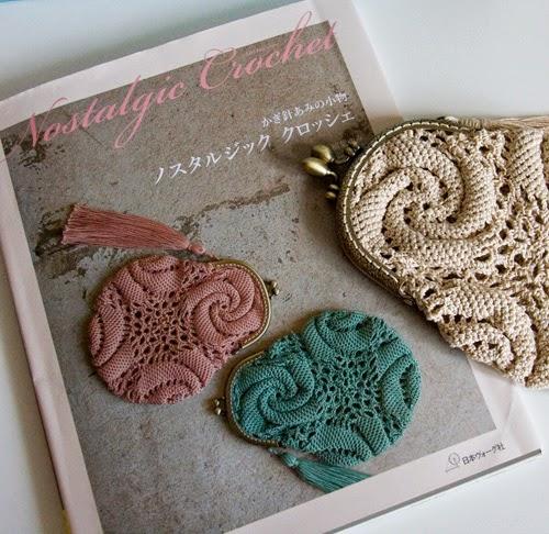 Nostalgic crochet purse en cartier bresson
