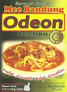 mee oaeon, Rempah Mee Bandung Pek Famili, mee batu pahat, rempah mee bandung batu pahat