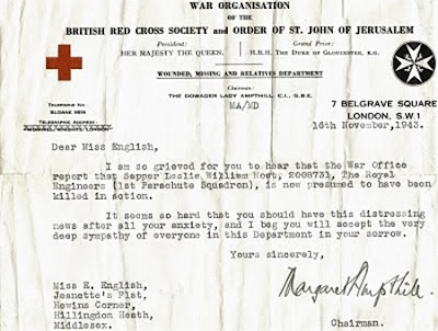 World War 2 letter