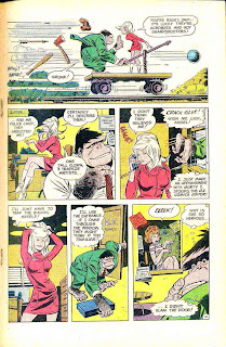 Angel  and the Ape v1 #2 - Wally Wood dc silver age 1960s comic book page art