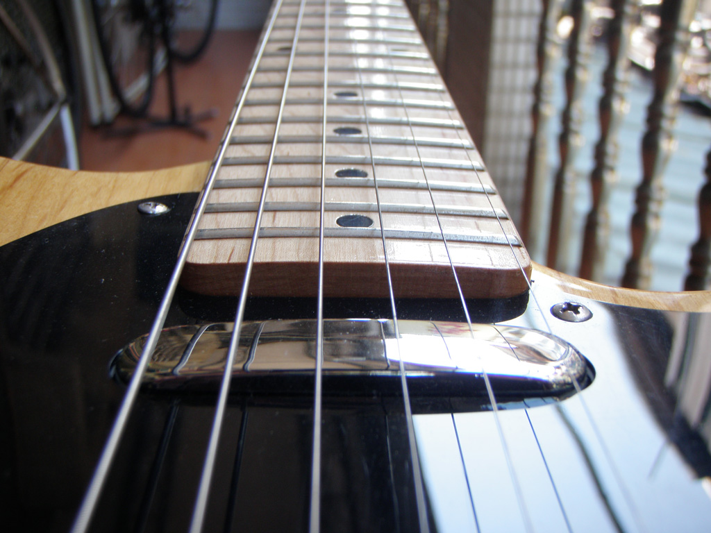 Adjusting The Neck Pickup Height On A Fender Telecaster Style Guitar