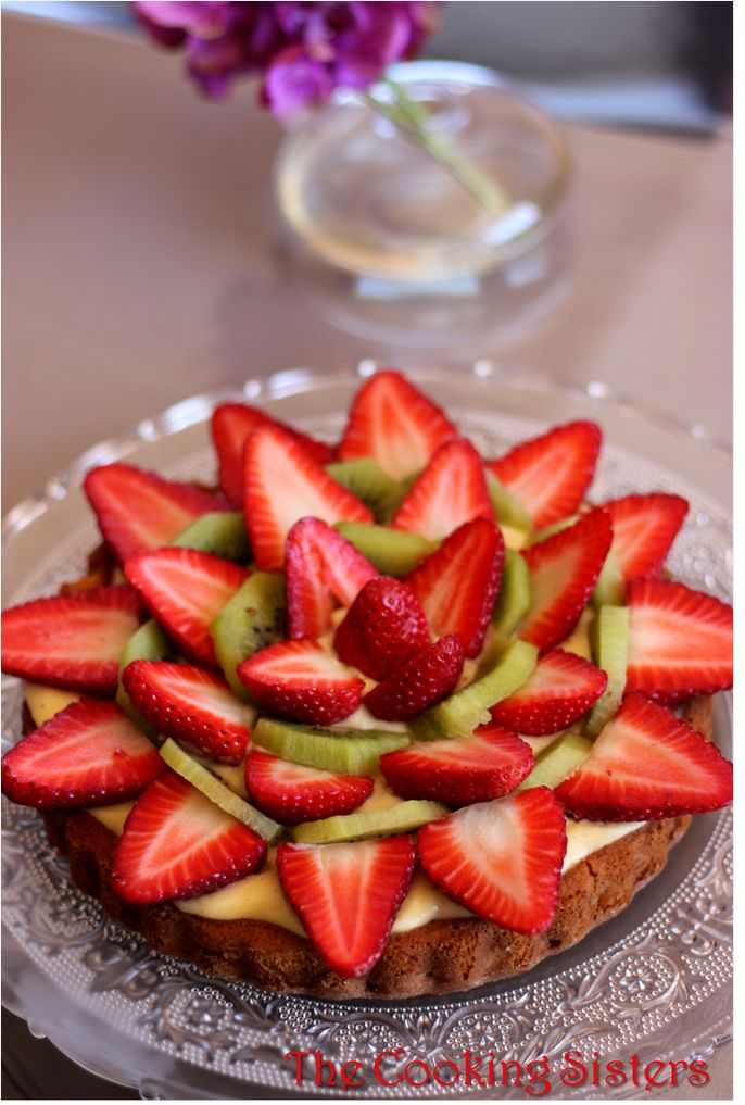 Gateau aux bananes et fraises