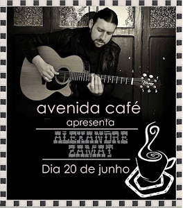 DÁ UMA PASSADINHA LÁ NO AVENIDA CAFÉ E CONFIRA!!!