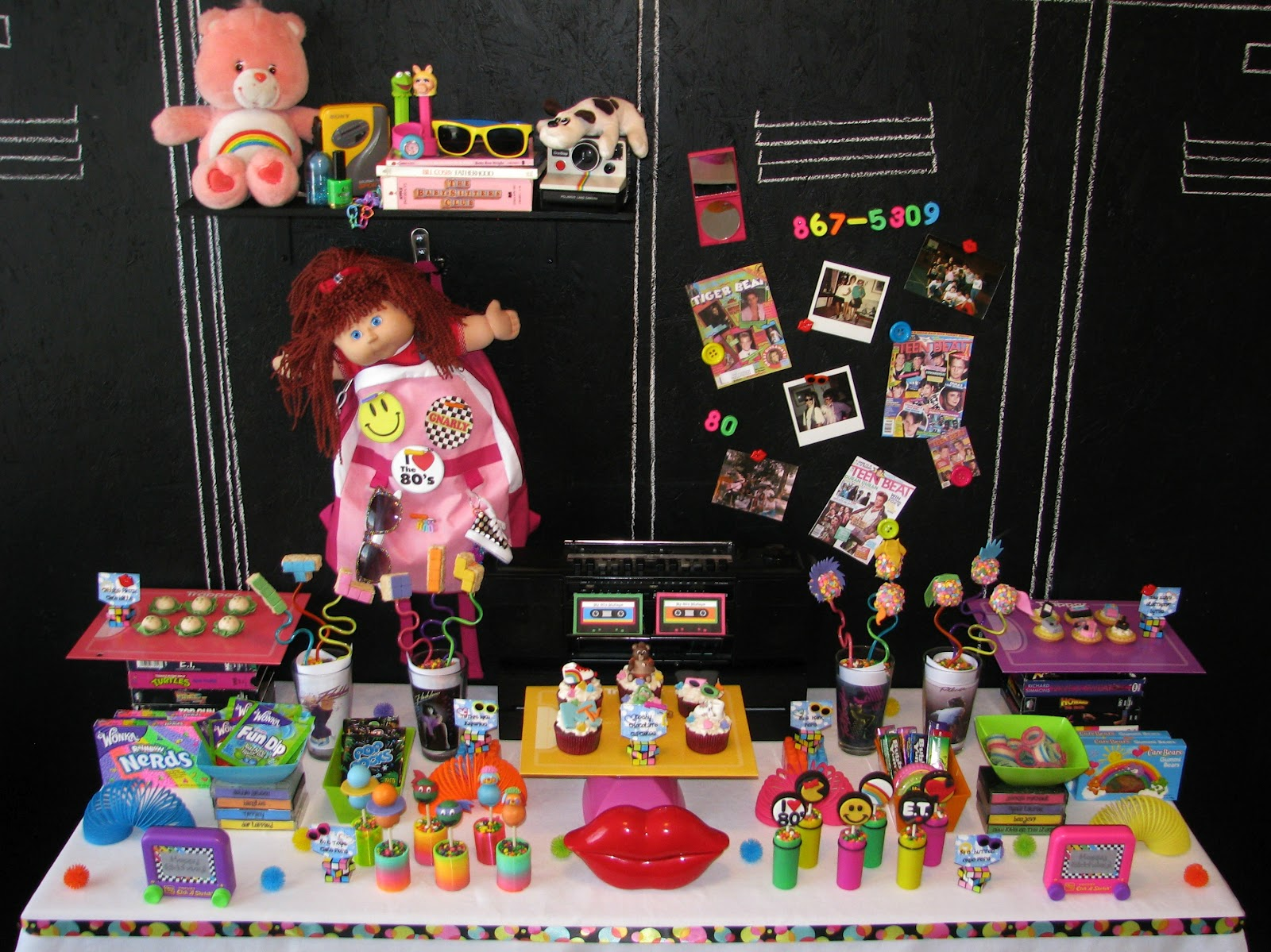 80 39 s birthday party ideas for 90s decoration