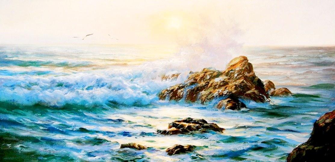 Pintura moderna y fotograf a art stica cuadros oleo for Cuadros de marinas