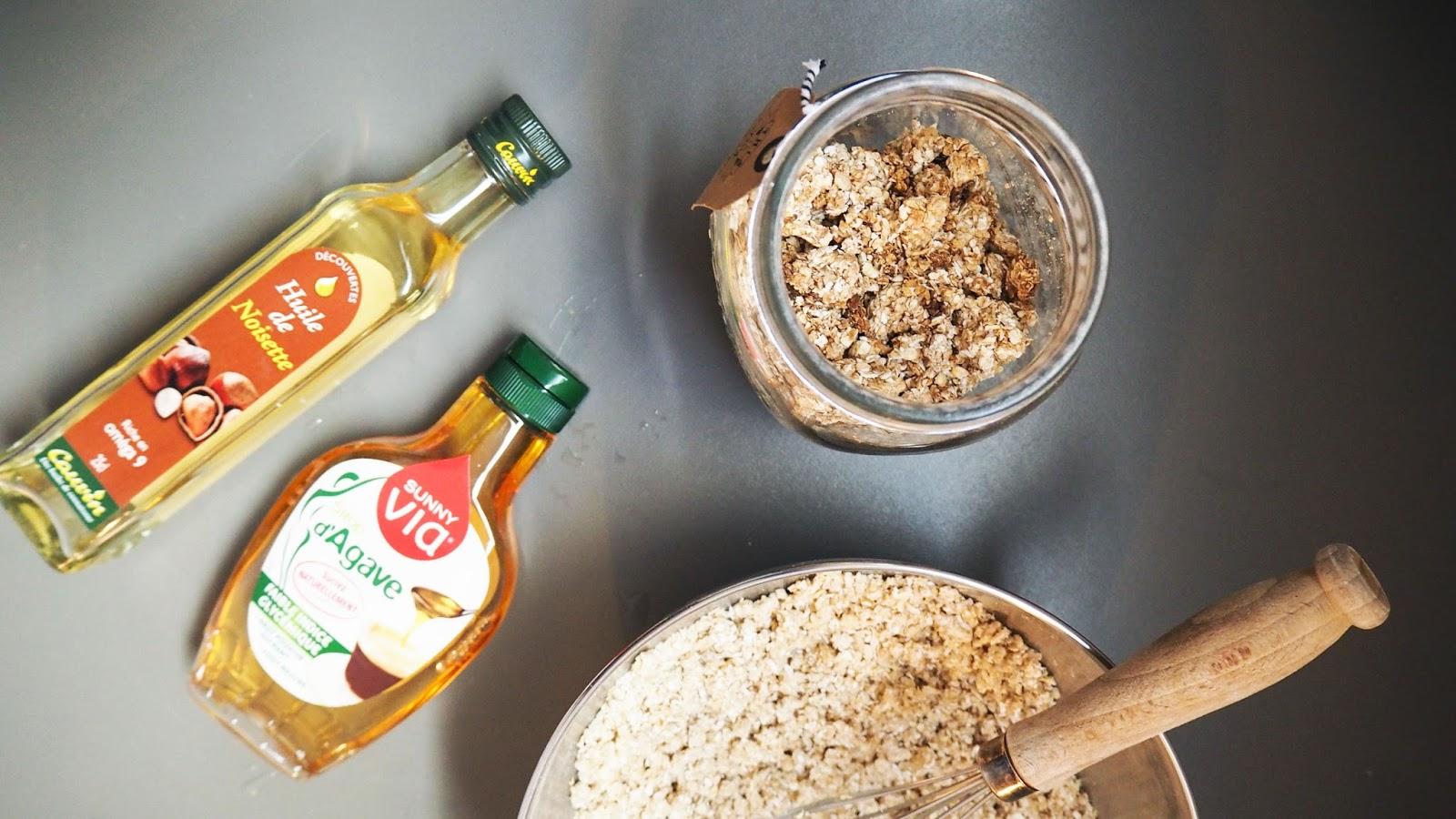 Flocon avoine recette muesli