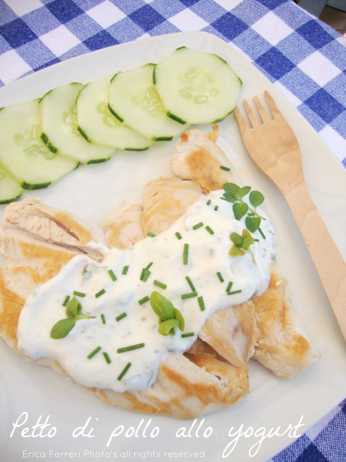 Ogni riccio un pasticcio blog di cucina petto di pollo for Cucinare yogurt greco
