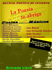 Recital de Invierno - La Poesía te abriga