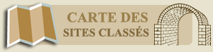 Carte momunents historiques Languedoc