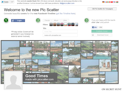 picscattercom 5 Best Websites to Create Facebook Timeline Cover Photos