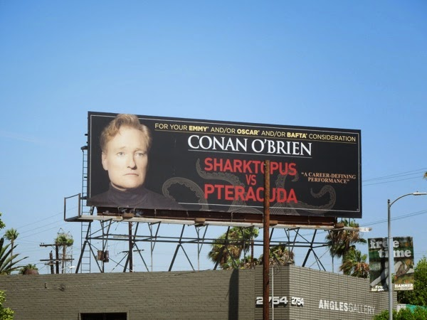 Conan Sharktopus vs Pteracuda Emmy billboard