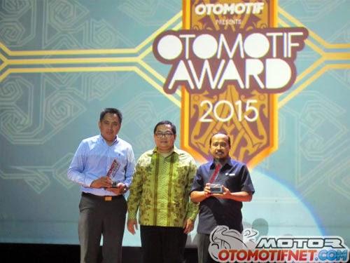 Daftar Pemenang OTOMOTIF Award 2015 - Yamaha NMAX Raih Bike of The Year 2015