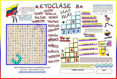 Descubre el número, Problemas matemáticos, Acertijos matemáticos, Problemas de lógica, Problemas para pensar, Problemas matemáticos con solución, Problemas de ingenio, Desafíos matemáticos, Batalla de Boyacá, Historia de Colombia y la matemática