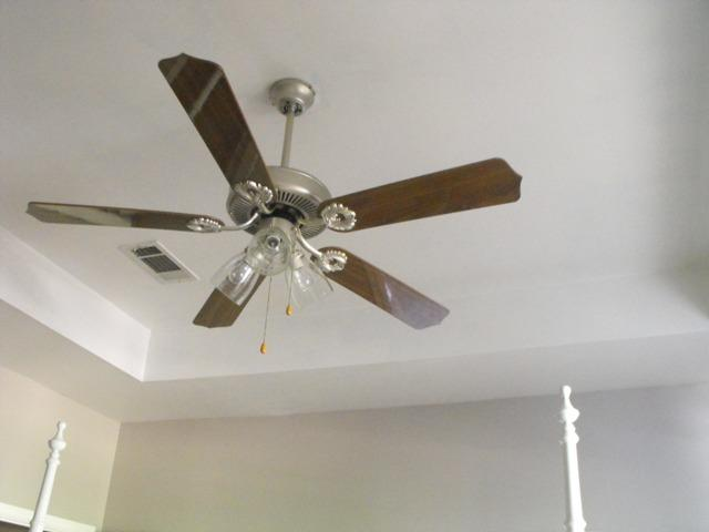 Paint Ceiling Fan : Susie harris painting a ceiling fan