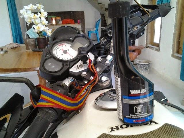 Impresi Penggunaan Yamaha Carbon Cleaner di CB150R