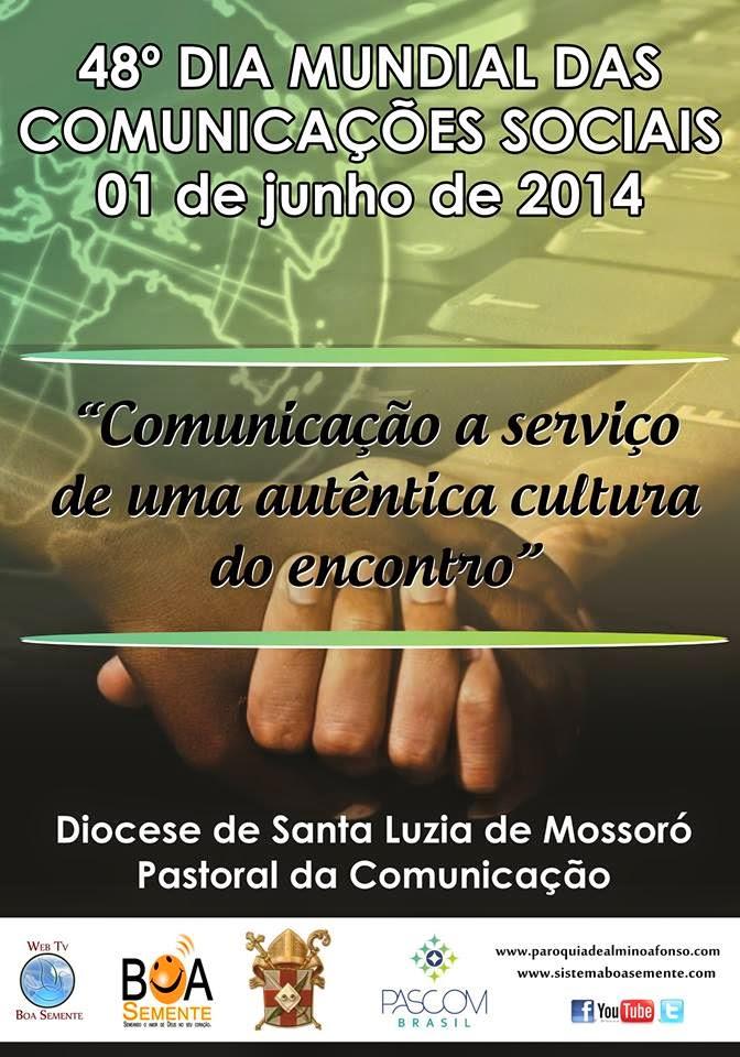 Igreja celebra o 48º dia mundial das comunicações dia 1º de Junho