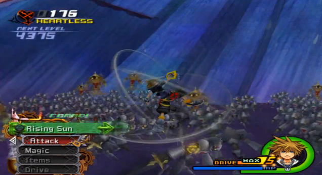 Kingdom Hearts 2 - Sephiroth Boss Battle (Won in 2nd Attempt ...