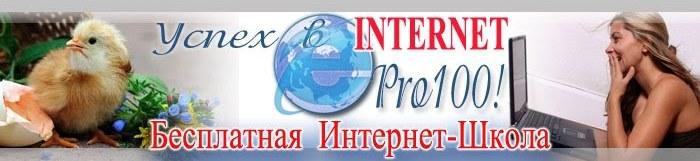 Успех в интернет PRO100