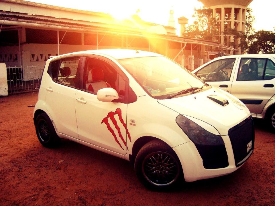 cars: modified Ritz