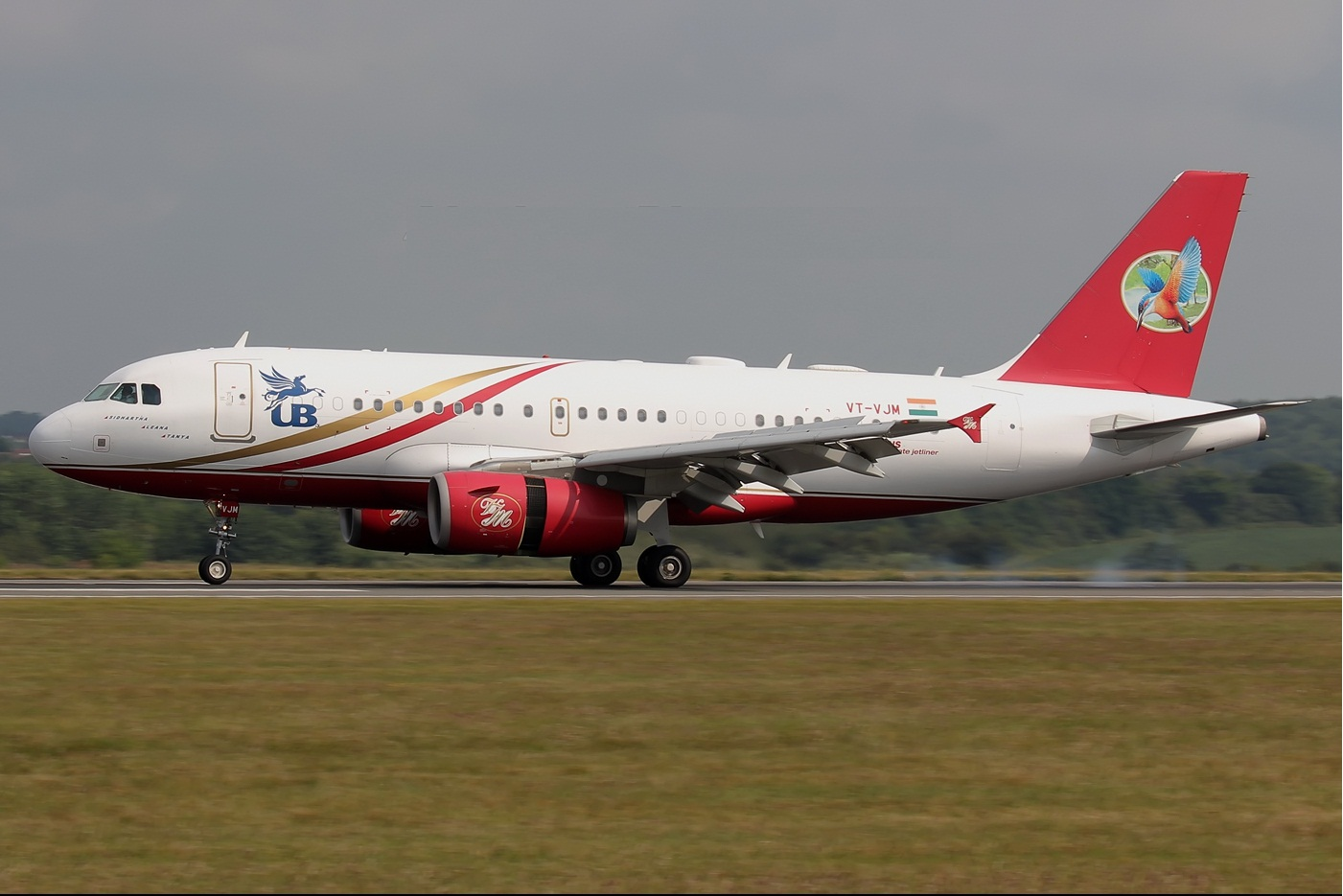 Plane Kingfisher Airlines