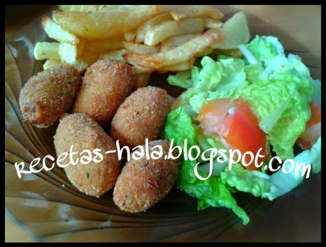 Mi rinconcillo de cocina halal: Croquetas de atún.