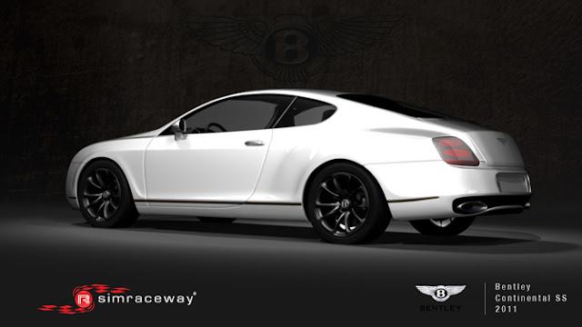 Bentley continental rFactor Simraceway