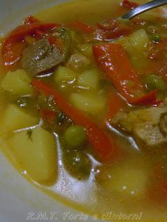Ciorba Taraneasca ricetta rumena