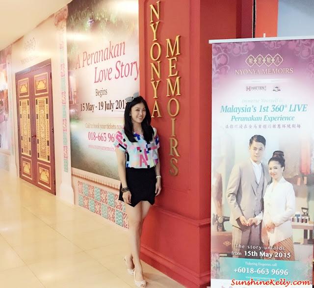 Nyonya Memoirs, Baba Nyonya, Live Environment Theatre, Live Theatre, Melaka, Peranakan Heritage, Peranakan