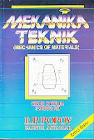 toko buku rahma: buku MEKANIK TEKNIK (MECHANICS OF MATERIALS), pengarang popov zainul astamar, penerbit erlangga