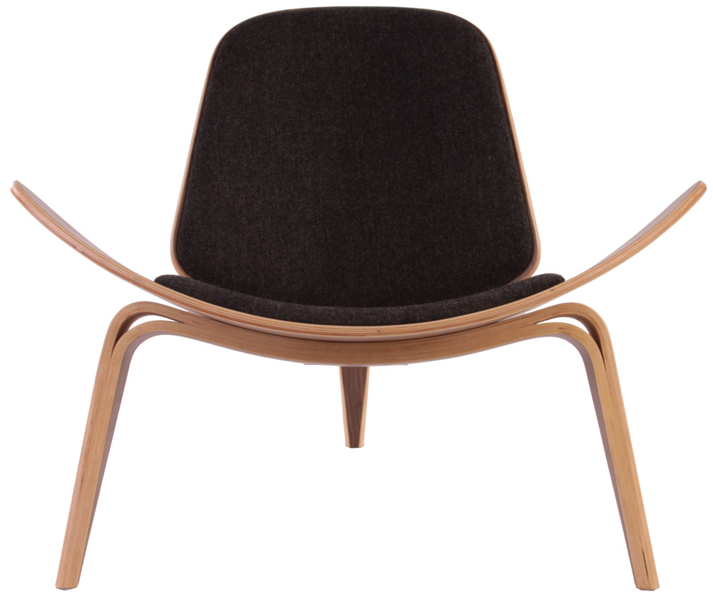 Top 10 plywood chairs the shell chair 1963 hans wegner - Shell chair replica ...